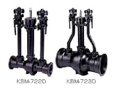 GMII形ダクタイル鋳鉄製ボールバルブ(放散管付)