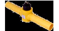 ガス用キーロンポリエチレンバルブ(KPFU-011PE)