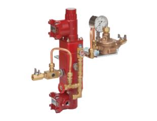 直動式整圧器 緊急停止システム用圧力切替弁