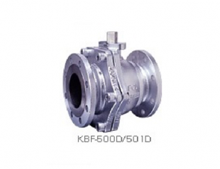 Flange-type ductile cast iron-made ball valve