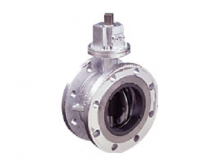 Flange-type ductile cast iron-made butterfly valve