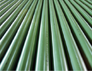 GS (steel pipe with polyethylene-coated outer surface)