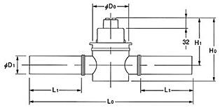 Main dimensions KPFU-011PE