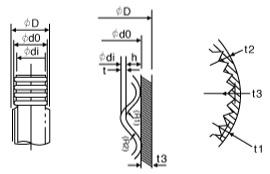 KFT Dimensional drawing