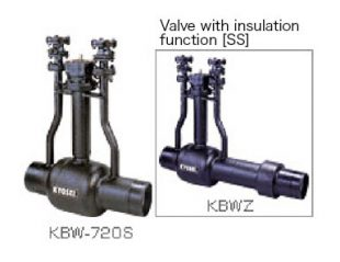 Full-welding type direct-buried steel valve [SS type]