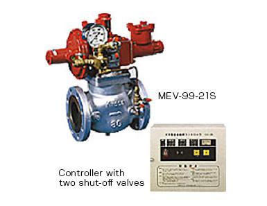 Multi-gas emergency shut-off system