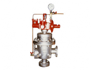 Filter with emergency shut-off valve